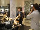 Rechtenvrij - high res FOTO Trendwatcher Richard Lamb tijdens opnamen voor SBS6 (Video volgt binnenkort)