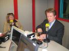 Rechtenvrij - high res FOTO - Trendwatchers-duo tijdens BNR-uitzending Trends & Gadgets 2010 (audio volgt binnenkort)